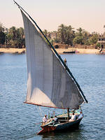 Felucca in Full Sail