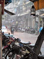 Hanoi in the Rain